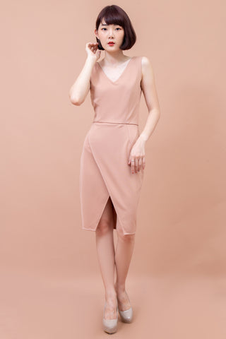 Veranda Dress Emmon Beige