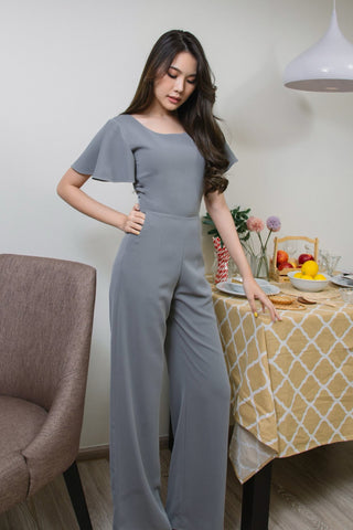 Roselyn Jumpsuit Middle Grey