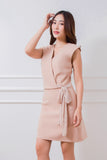 Araya Dress Beige