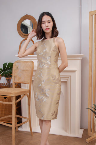 Emmit Dress Gold