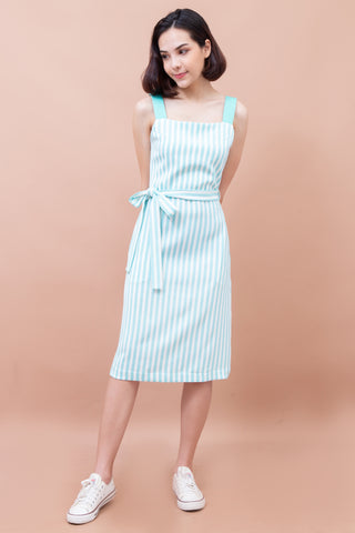 Mananya Stripe Dress - Mint