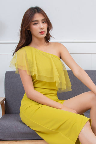 Pitcha Dress Corn Mustard