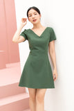 Amira Dress Green