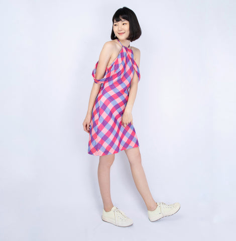 Asha Plaid Dress