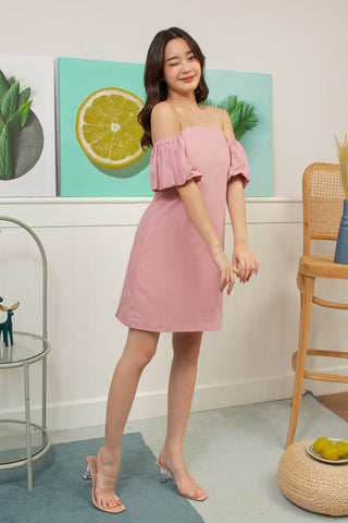 Sista Box Vendy Mini Dress Pink
