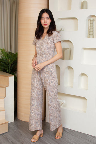 Ivy Jumpsuit Cream