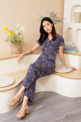 Ivy Jumpsuit Navy Blue