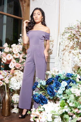 Kura Jumpsuit Purple