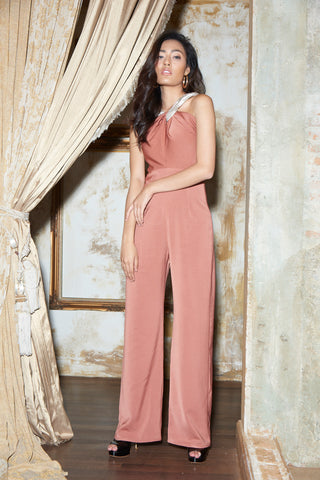 Arika Jumpsuit Brick Brown