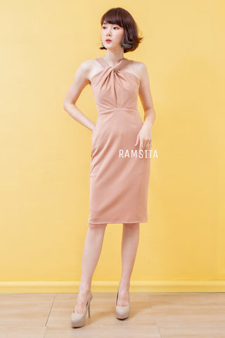 Arika Dress Emmon Cream