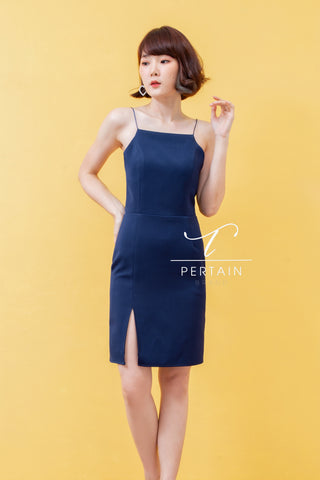 Darla Dress Navy Blue