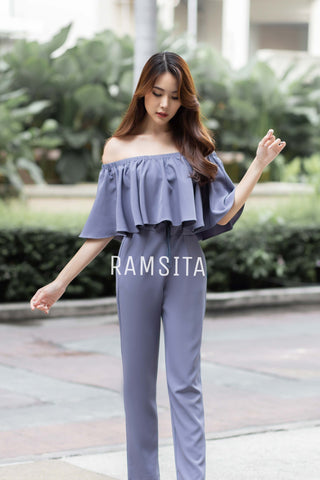 AMANDA JUMPSUIT GREY