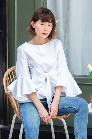 MARIYA TOP - White