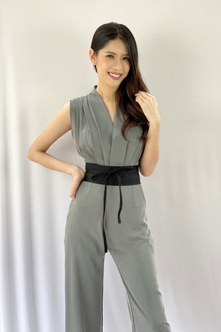 Varisa Jumpsuit Grey