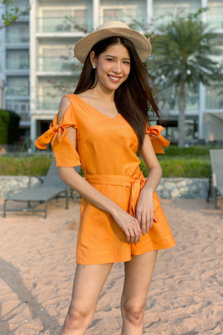 Susana Playsuit - Orange