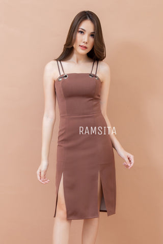 Waranya Dress Brown