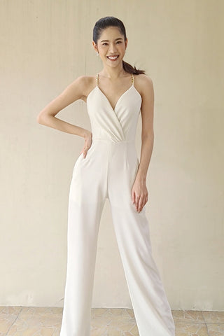 Lavera Jumpsuit Off White