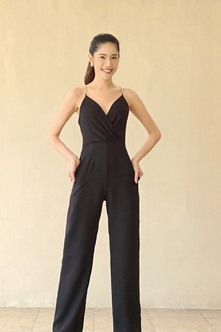 Lavera Jumpsuit Super Black