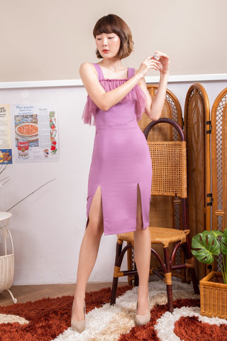 Waranya Dress Purple