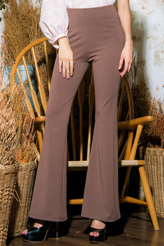 VANESSA PANTS - BROWN