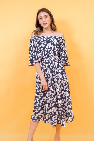 Wanessa Maxi Dress Navy Blue