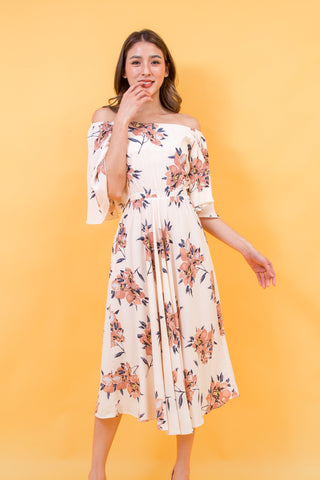 Wanessa Maxi Dress Cream