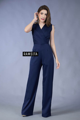 Precika Jumpsuit Navy Blue