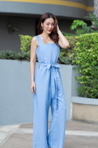 Vivien Jumsuit - Blue