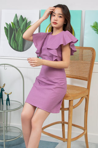 Charlotte Dress Purple