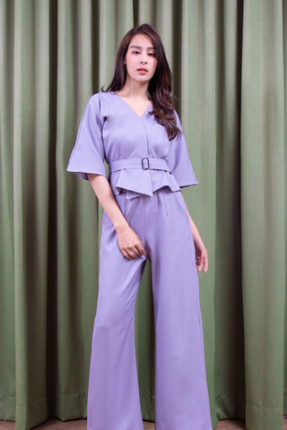 Irish Pant Set - Purple