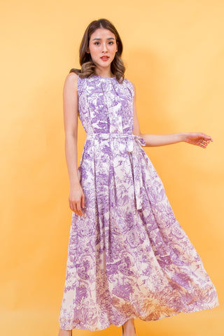 Arine Maxi Dress Purple