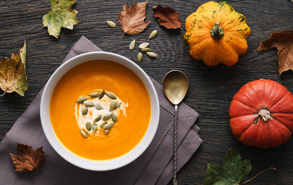 Spooky Spicy Pumpkin Seed Soup