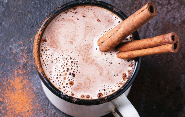 Warming Morning Hot Chocolate Smoothie Recipe