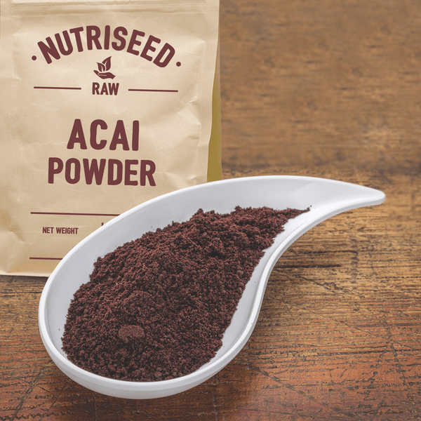 Acai Berry Powder, Organic, Vegan Friendly & Gluten Free