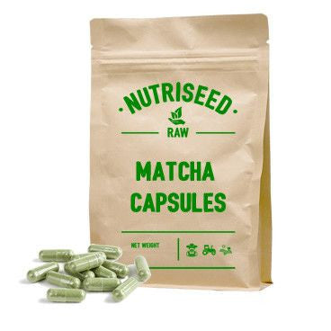 Ceremonial Matcha Tea Capsules - 500mg