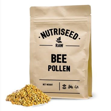 An image of Bee Pollen - All-Natural, Gluten-Free & Complete Superfood Packed with Vitamins,...