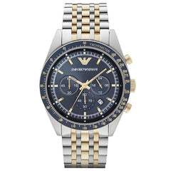 Emporio Armani AR6088 Men's Tazio Chronograph Watch - TheWatchCabin - 1