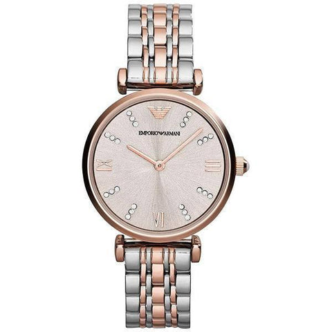 Emporio Armani AR1840 Ladies Gianni T-Bar Watch - TheWatchCabin - 1