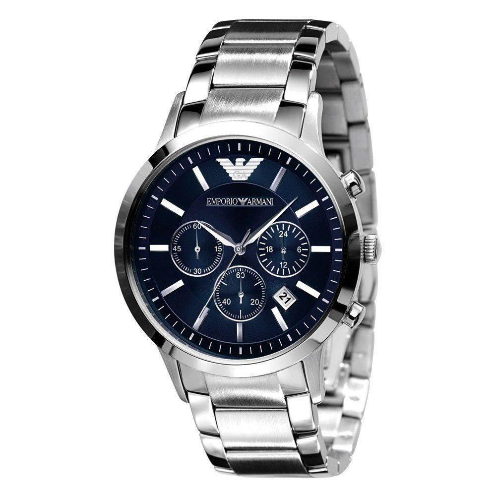 Emporio Armani AR2448 Men's Renato Chronograph Watch