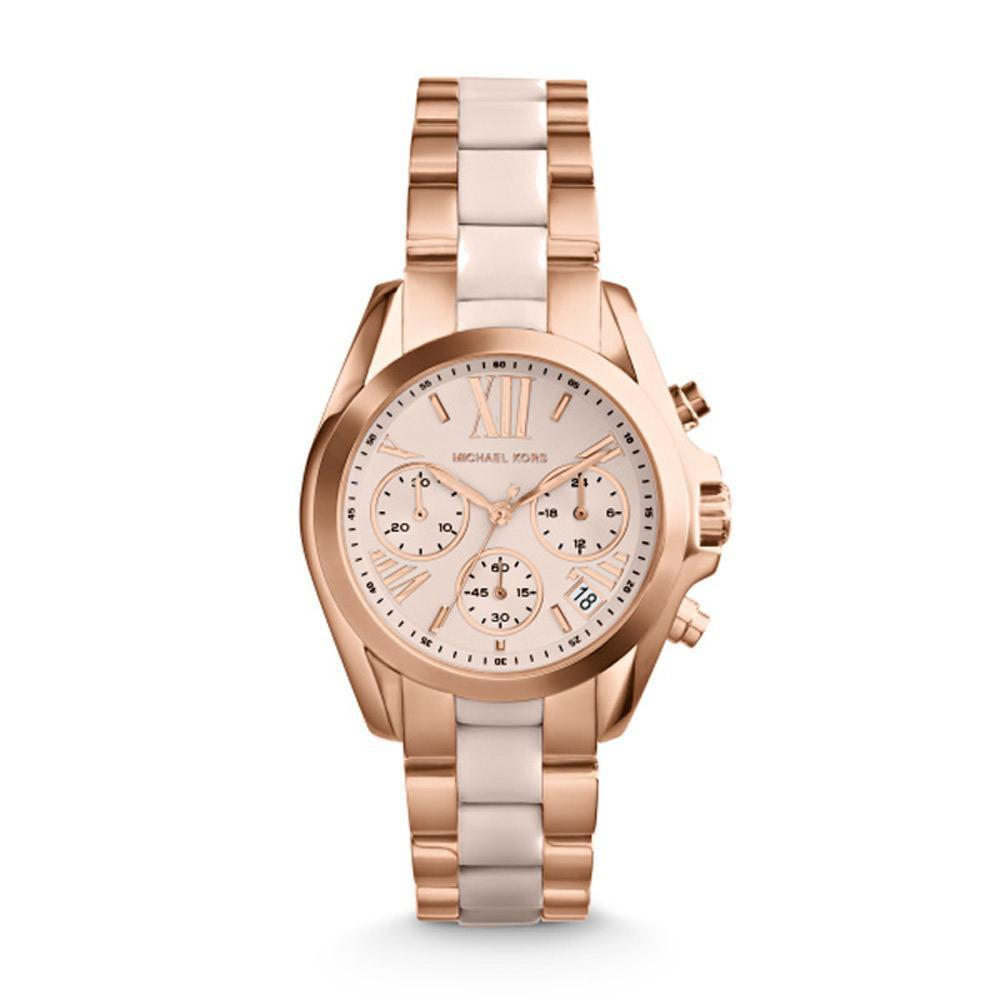 Michael Kors MK6066 Ladies' Bradshaw Chronograph Watch - TheWatchCabin - 1