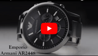Emporio Armani AR2448 Men's Renato Chronograph Watch Video