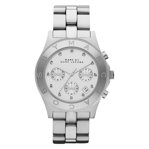 Marc Jacobs MBM3100 Ladies Blade Chronograph Watch - TheWatchCabin - 1