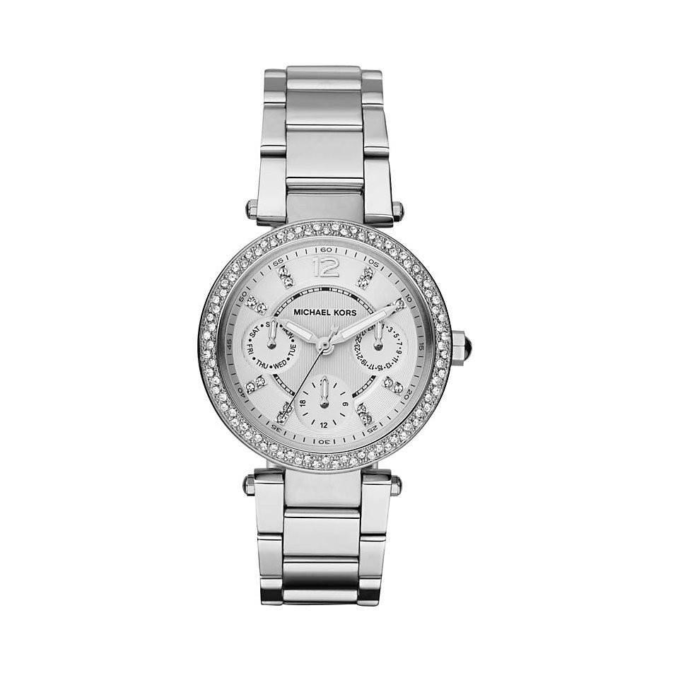 Michael Kors MK5615 Ladies Mini Parker Chronograph Watch - TheWatchCabin - 1