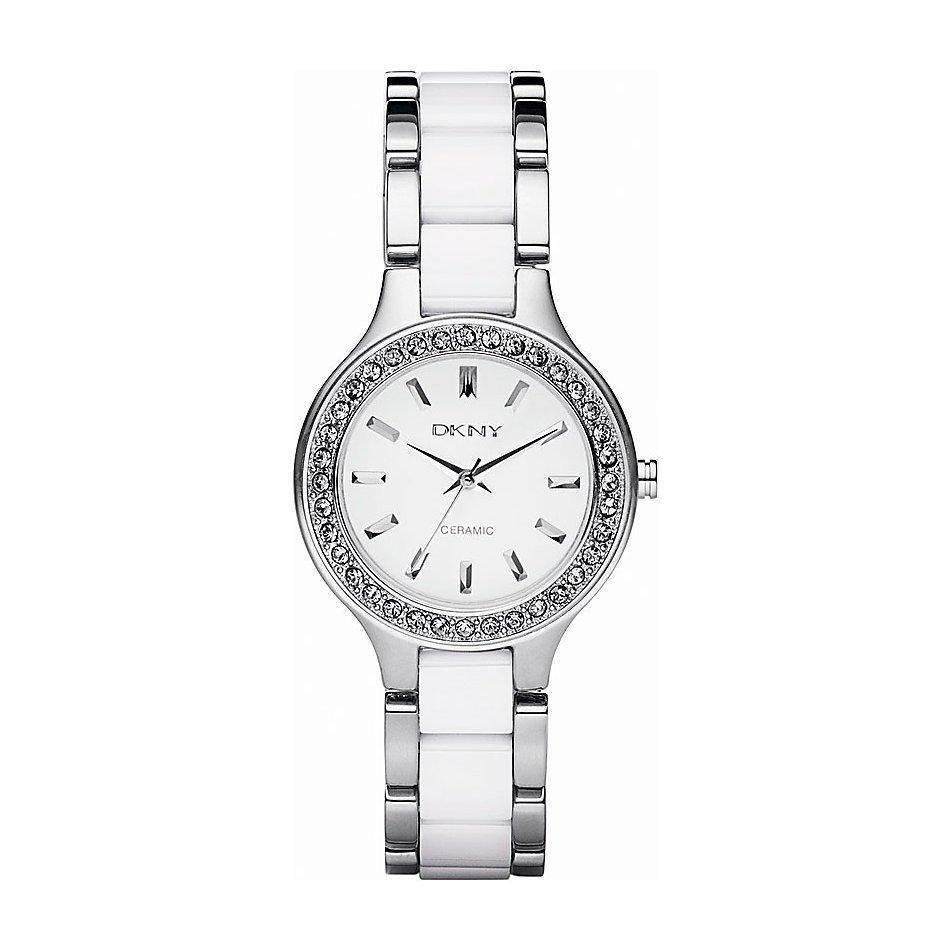 DKNY NY8139 Ladies Chambers Ceramic Watch - TheWatchCabin - 1