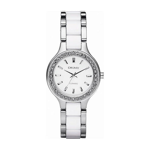 DKNY NY8139 Ladies Chambers Ceramic Watch