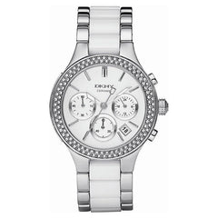 DKNY NY8181 Ladies Chamber Ceramic Chronograph Watch
