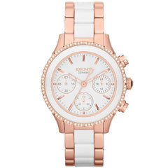 DKNY NY8825 Ladies Chambers Ceramic Watch
