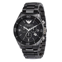 Emporio Armani AR1421 Men's Ceramica Ceramic Chronograph Watch