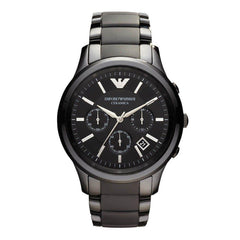 Emporio Armani AR1452 Men's Ceramica Ceramic Chronograph Watch