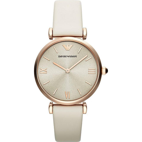 Emporio Armani AR1769 Ladies Rose Gold Tone Watch - TheWatchCabin - 1